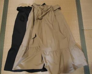 スカート、売ってきました