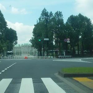 2020東京オリンピック開幕式当日・・・オリンピックスタジアム周辺の道路を走ってみました