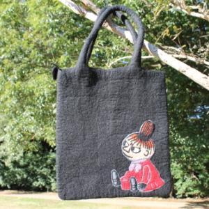 ムーミンのバッグ♪ KLIPPANのリトルミィがフェルトバッグになった!