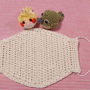 マスク2の編み図です