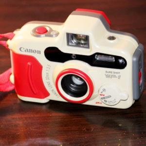 散歩日和コンパクトなカメラ