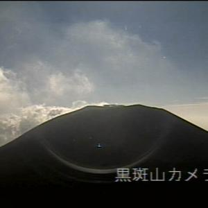 今日の浅間山  6月1日(土)