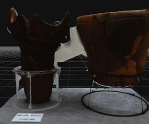 露光量増大による3Dモデル改善