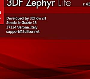 SfM-MVSによる3Dモデルの作成手順 3DF Zephyr Liteの利用