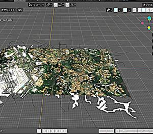 BlenderGISの導入