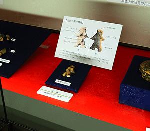 数センチ程度小展示物の学習用3Dモデル資料について