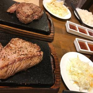 ステーキ→コリアンタウン