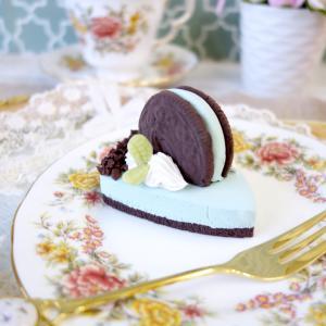レッスンレポ チョコミントケーキ★群馬のフェイクスイーツ教室