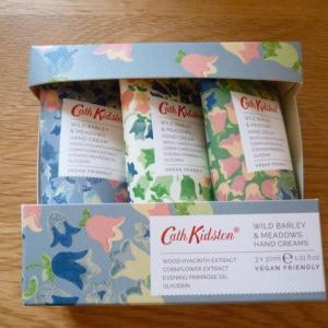 Cath Kidstonハンドクリームセット Wild Barley&Meadows