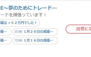 怪しいブログ(kabuさんではない)の・・・・