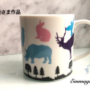 [生徒さま作品] キッズレッスン マグカップ ( RM くん )