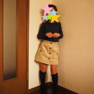 【着画】muniさんのフロントボタンパンツ