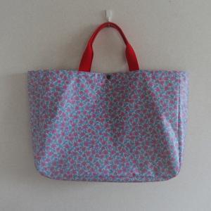 【オーダー】花柄のプールバッグ