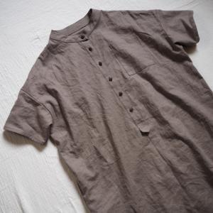 【自分服】リラブロンマさんのフィッシャーマンシャツ