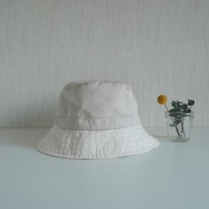 バイカラーの帽子☆クロバーさんレシピ