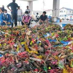 タコ漁受難!!驚愕の釣りゴミ…明石の釣り@ブログ
