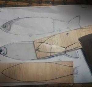 ◆削りだしビッグベイト230㎜…明石の釣り@ブログ