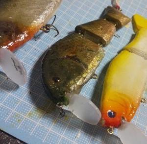 ◆SRリップのテスト…明石の釣り@ブログ