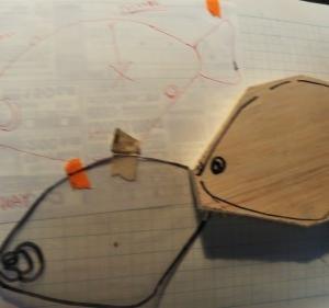 ◆NEW流葉の削り出し…明石の釣り@ブログ
