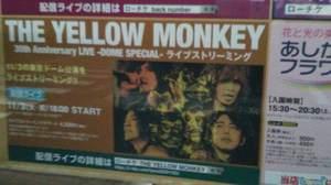 THE YELLOW MONKEY オンラインライブ