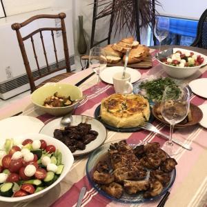 夫の手料理 | デザイン事務所の風景