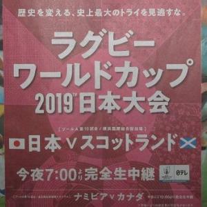 日本 ブレイブブロッサムズ vs. スコットランド 被害に立ち向かう力を、勇気を