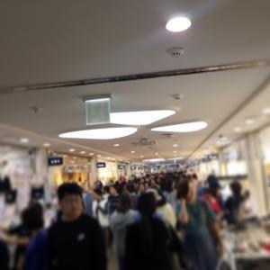 待ちに待った買い物day。新世界百免税店(会賢)からバス移動で向かった先はGOTOモール
