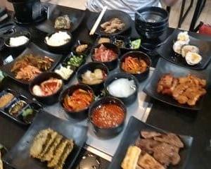 2021-09-25 韓国系 焼肉屋さんに子供に誘われて行きました。
