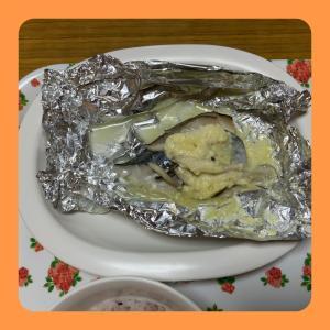 春の魚? 【鰆の味噌クリームチーズ焼き】