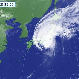 嵐のHAPPY BIRTH DAY@台風19号に備えつつ、、、