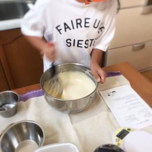 公文算数Eへ & ケーキ作り