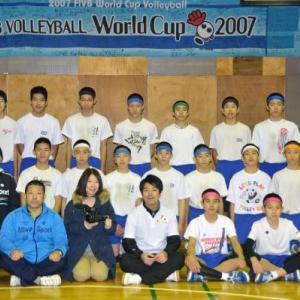 【 日本一練習量の多いバレーボールチーム】