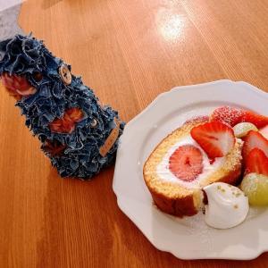 【嵐山・嵯峨】2020年最後のおやつは実はここのロールケーキでした☆neige喫茶とおやつ