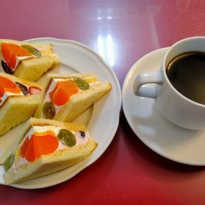 【北野白梅町】懐かしのフルーツサンドを昔ながらの雰囲気が落ち着く喫茶店で☆喫茶 静香