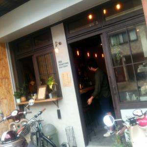 【西院】自家焙煎のコーヒースタンドで食べる大人のかき氷はコーヒー感じる大人の味♪