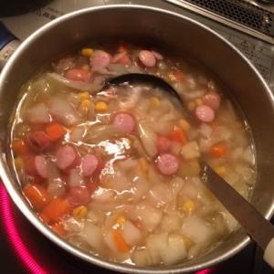 野菜スープにはまってる