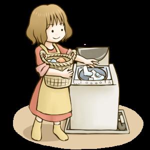 洗濯機、買換えたよ