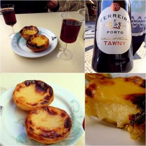 リスボン アウグスタ通り【NATA DE LISBOA】~朝から美味しいエッグタルトやポートワインが頂けます May.'19