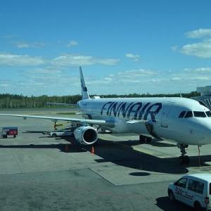 AY1740,JL6900便 A321 リスボンーヘルシンキ エコノミー/ジャンプシート隣!2人席搭乗記パート2 May.'19