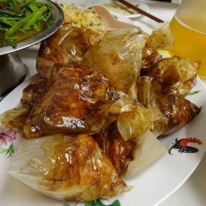 キッチーナロード ヒルマン レストラン/日本人好みの味付けのペーパーチキン Jan.'20