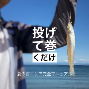 btの夏のキス釣り須磨西エリア完全マニュアル