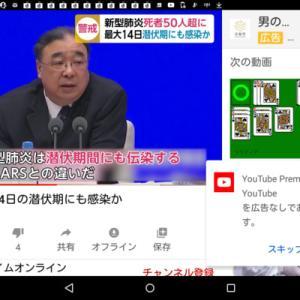 潜伏期間にも感染か?潜伏期間最大14日:日本国内で4例目を確認