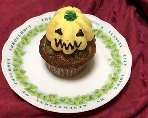 Halloween Cup Cake ★ バタークリームのハロウィンカップケーキ (2)