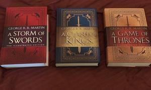 A Song of Ice and Fire (by: George R.R. Martin) ~ Illustrated hard cover edition