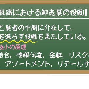 ★まとめ★【流通経路における卸売業の役割】
