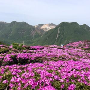 大分県の山 平治岳へ