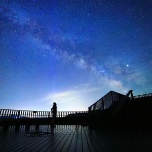 ジオパークの夜