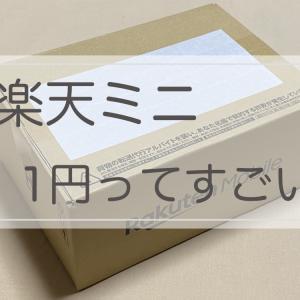 【楽天ミニ】1円で使えるスマホ 本当に使えるか買ってみよっ♪