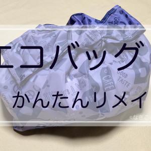 【プラスチック製買物袋有料化】エコバッグ簡単リメイクやってみよっ♪