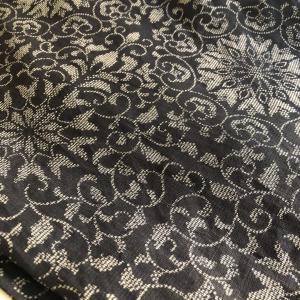 小千谷上布と栗山さんの帯